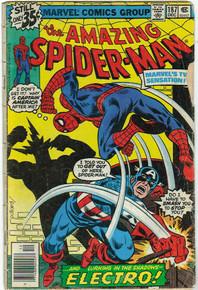 Amazing Spider Man #187 GD