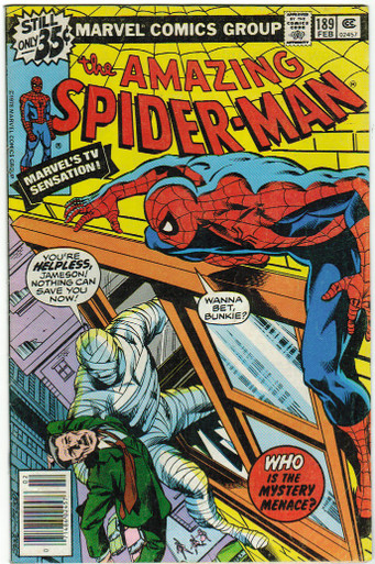 Amazing Spider Man #189 FN Front Cover