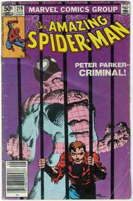 Amazing Spider Man #219 VG
