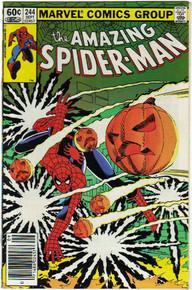 Amazing Spider Man #244 VF