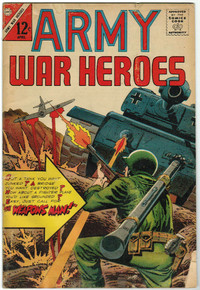 Army War Heroes #13 VG