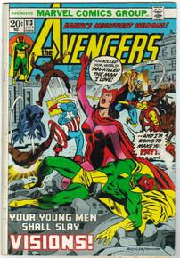 Avengers #113 GD