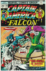 Captain America #184 VF