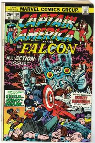 Captain America #190 FN