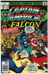 Captain America #217 VF/NM Front Cover