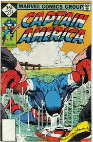 Captain America #224 VF/NM