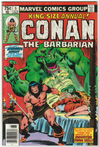 Conan King Size Annual #5 VF Front Cover