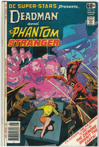 DC Super Stars Presents Deadman and The Phantom Stranger #18 FN