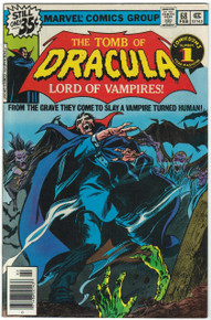 Tomb of Dracula #68 FN Front Cover