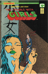 The Trouble With Girls #4 VF