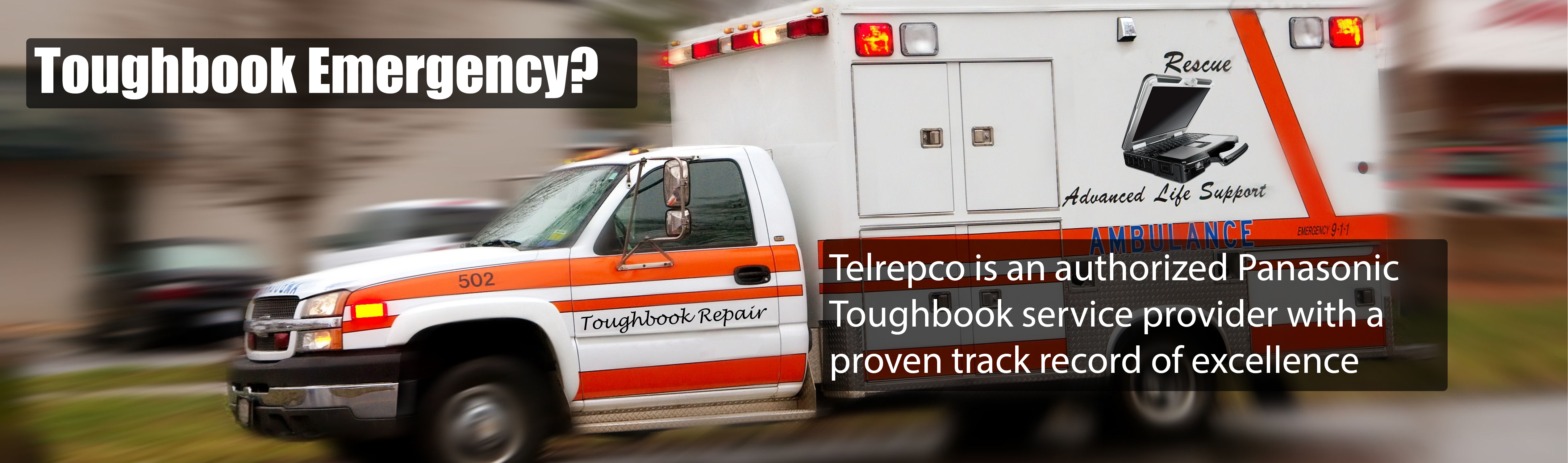 Telrepco is an authorized Panasonic Toughbook service provider with a proven track record of excellence.