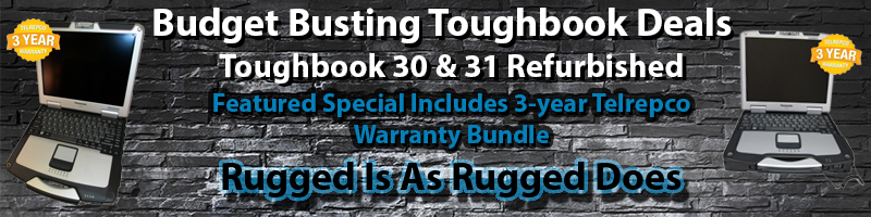Panasonic CF-30 & CF-31 Toughbook Sales