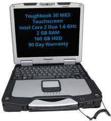 Used fully-rugged Panasonic Toughbook CF-30 Touchscreen