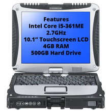New Toughbook CF-19 Mk8, CF-19ZE001DM