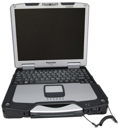 Refurbished fully-rugged Panasonic Toughbook CF-30 refurbished by Telrepco.