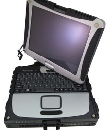Refurbished Panasonic Toughbook Cf-18 fully-rugged convertible notebook - open swivel