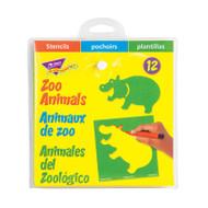 STENCILS ZOO ANIMALS