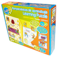 AT HOME BILINGUAL LEARNING PUZZLE