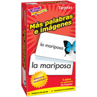 FLASH CARDS MAS PALABRAS E 96/BOX