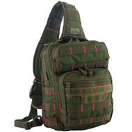 Rover Sling Pack - Olive Drab with Red Stitching