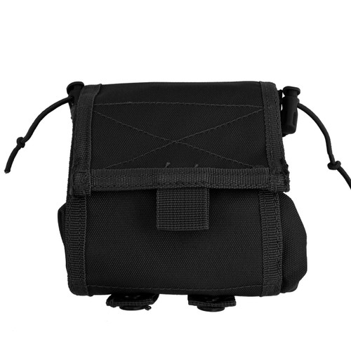 Folding Ammo Dump Pouch - Black