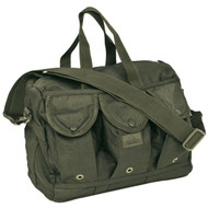 Nylon Shooters Bag - Olive Drab