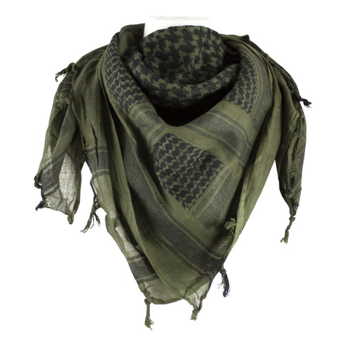 70-00 Tactical Shemagh - Olive Drab & Black
