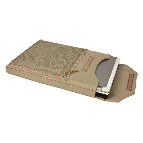 "82-520 15"" Padded Laptop Sleeve Open"
