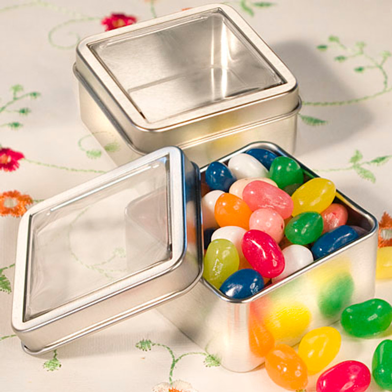 Clear Top Mint Tin Favors