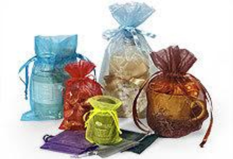 "Organza Favor Bag 5"" x 7"", Loads of Colors Available!"