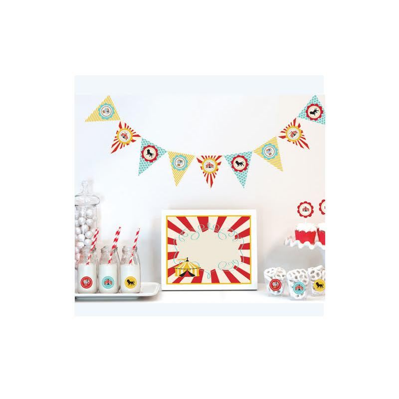 Circus Carnival Decorations Starter Kit