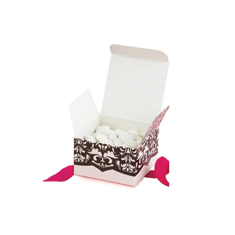Dynamic Design Favor Boxes - White and Black