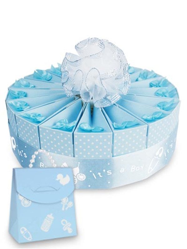 "Baby Shower It's A Boy!  8"" 1 Tier Favor Cake Kit"
