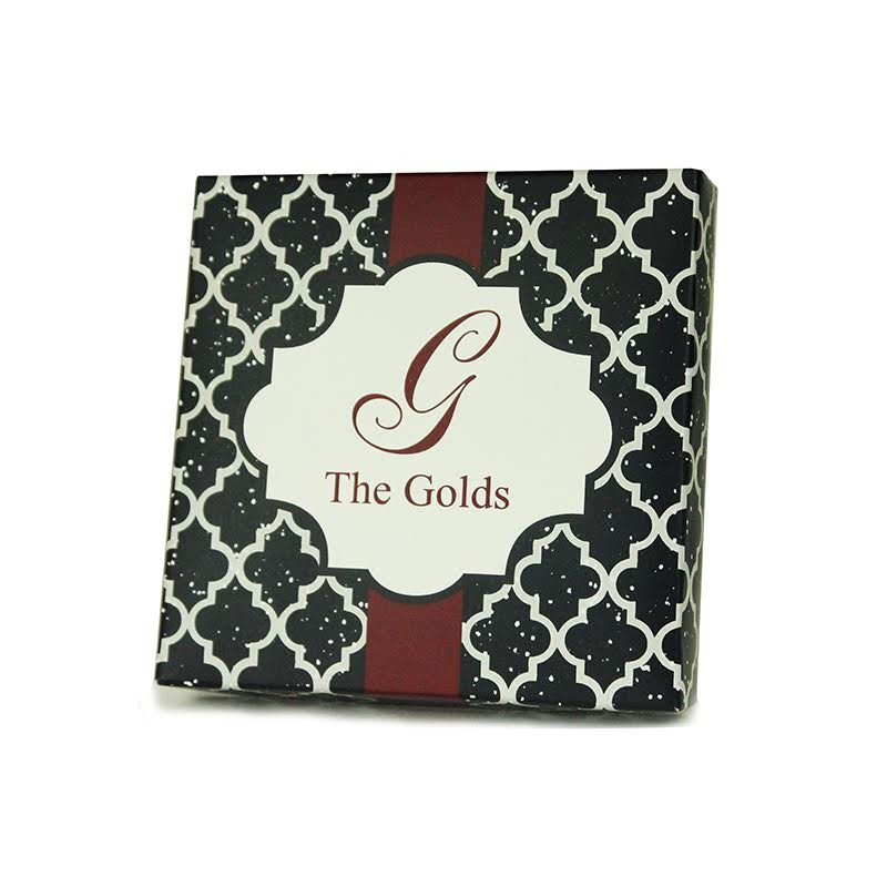 Black Quatrefoil Glitter Box (4 sizes available)