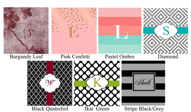 Monogrammed Welcome Gift Box (Large Selection of Styles) (Boxes Only)