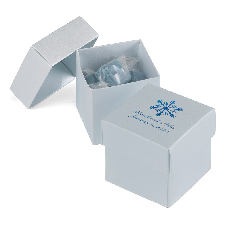 Two - Piece Favor Boxes - Diamond Blue (Pack of 25)