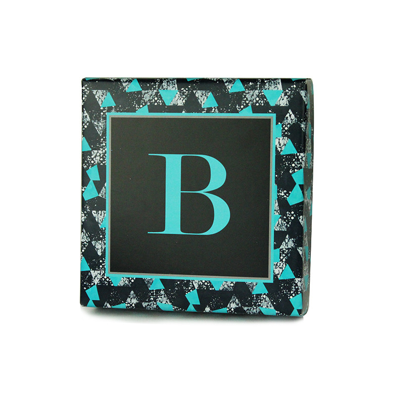 Geometric Triangle Design Monogrammed Purim Box 4 Sizes Available
