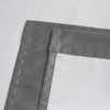 Soho Triple-Pass Thermal Insulated Blackout Curtain Rod Pocket-Gray-details
