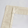 Soho Triple-Pass Thermal Insulated Blackout Curtain Rod Pocket-Beige-details
