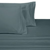 Split-Top-Sheets-Flex-Top-California-King-adjustable-beds-300TC-100-Cotton-Solid-Gray