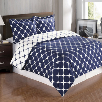 Bloomingdale Combed Cotton Duvet Cover Set