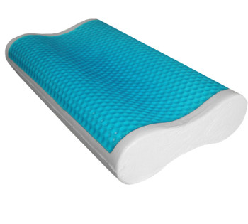 Abripedic Dual Contour Gel Memory Foam Pillow (Single)