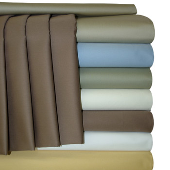 Extra Deep 22 Inch pocket Sheets 100% cotton 300 Thread count Solid