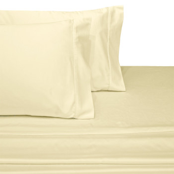 Wrinkle-Resistant 100-Percent Cotton Sheets 300 Thread count-White