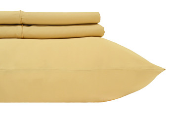 King Size 450 Thread Count 100-Percent Cotton Sheets-Gold