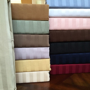 Sateen Stripe Super Soft 100% Microfiber Sheet Sets