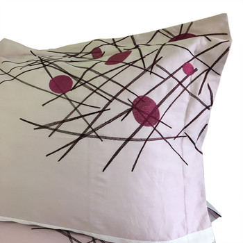 Cherry Embroidered Multi-Piece Duvet Cover Sets Pillow Shams