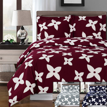 Desiree Cotton Duvet Cover Set Image/ Available Color Collection