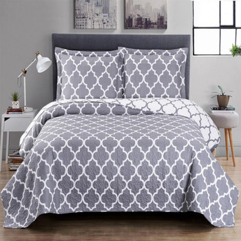 Meridian Oversized King Quilt, Queen Size OR Twin Quilt Sets