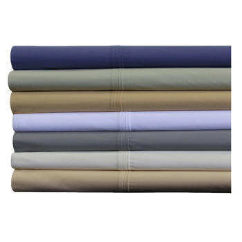 Crispy Soft Percale Pillowcases 100% Breathable Cotton by Abripedic